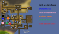 Piscarilius residential district map