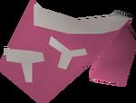 Tribal top (pink) detail
