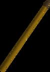 Bronze spear detail