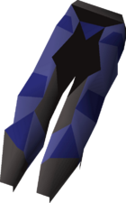 Graceful legs (Agility Arena) detail