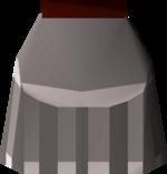 Steel plateskirt (t) detail