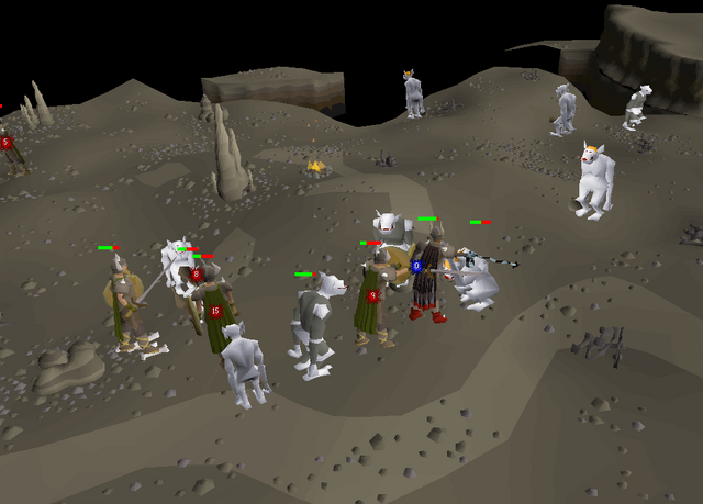 File:The Fremennik Isles honour guard and trolls.png