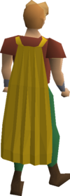 Fremennik yellow cloak equipped