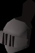Iron full helm (t) detail