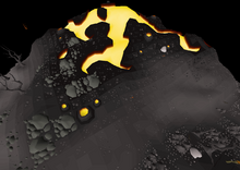 Fossil Island Volcano
