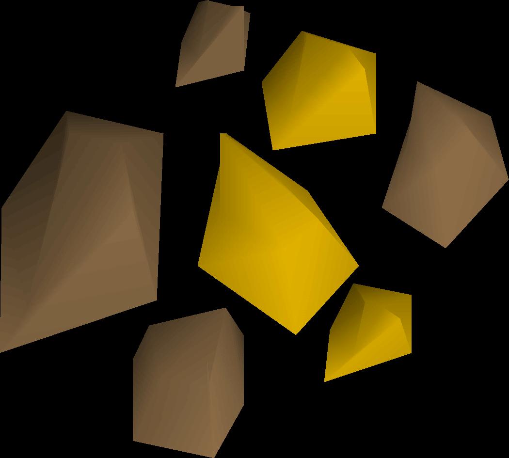 Gold Ore Old School Runescape Wiki Fandom Powered By Wikia