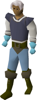 Ice gloves equipped