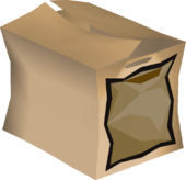 Sack pack detail