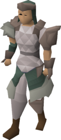 3rd age range armour equipped