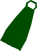 Fremennik green cloak detail
