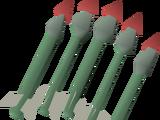Ruby bolts (e)