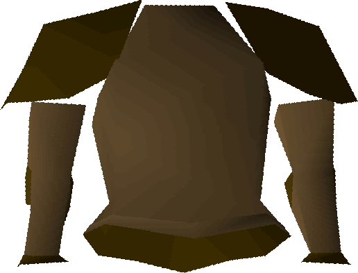 Bronze platebody detail