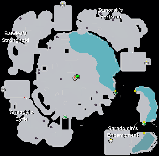 Image - God Wars Dungeon Map.png | Old School RuneScape Wiki ...