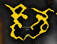 Lava Dragon Isle map