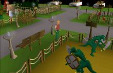 2014 Birthday event - lizardman, giants and imp exhibits