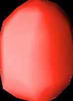 Bird's egg (red) detail