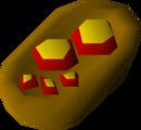 Cheese+tom batta detail