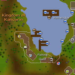 Fishing Guild map