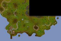 Kourend Woodland map