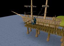 Veos's ship