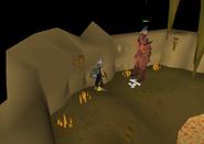 Fire giant Deep Wilderness Dungeon safe spot
