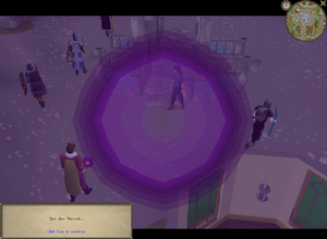 Scrying pool interface