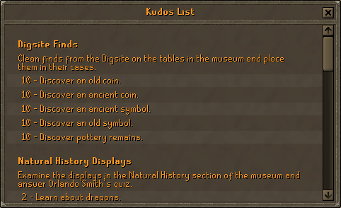 Fossil Island Kudos Display, the Champion's Cape, and much more. (1)