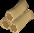 Teak logs detail
