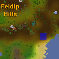 Hot cold clue - south of Rantz map