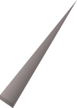 Prototype dart tip detail