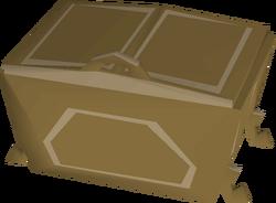 Teak fancy dress box built