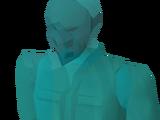 Masked stranger