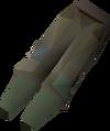 Farmer's boro trousers (male) detail