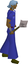 Steel mace equipped