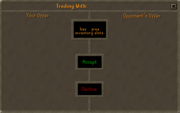 Trade interface