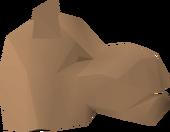 Camel mask detail