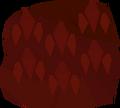 Red dragonhide detail