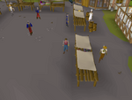 Emote clue - laugh ardougne gem stall