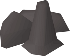 Ring of stone equipped