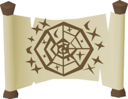 Astronomical chart built