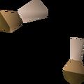 Splitbark gauntlets detail