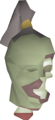 Zombie head detail