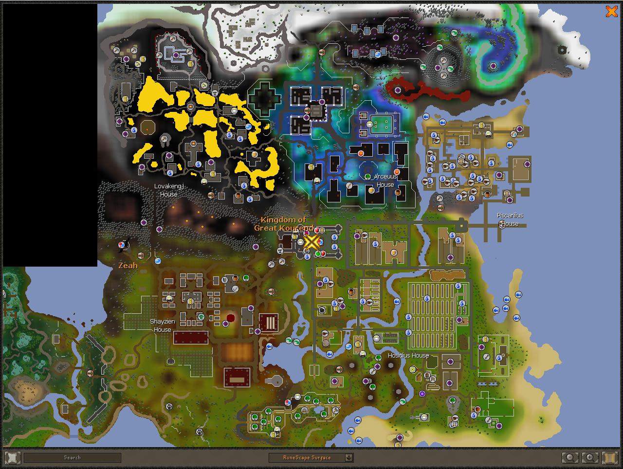 World map | Old School RuneScape Wiki | FANDOM powered by Wikia