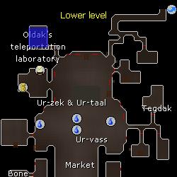 Oldak location