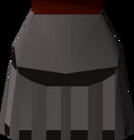 Iron plateskirt (t) detail