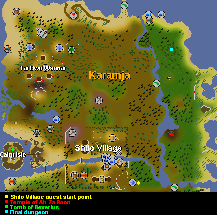 Shilo Village | Old School RuneScape Wiki | FANDOM powered ...