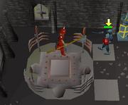 Animated Armour safe spot