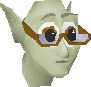 Banker (Cave goblin with glasses) chathead