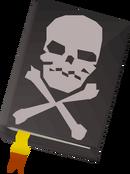 Book o' piracy detail