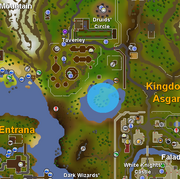 Lady of the Lake Location